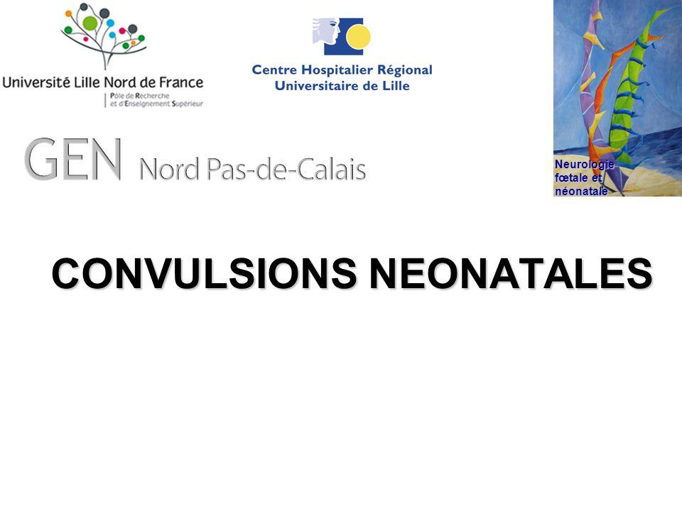 CONVULSIONS NEONATALES Neurologie fœtale et néonatale