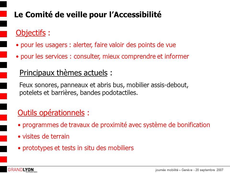 journée mobilité – Genève - 20 septembre 2007