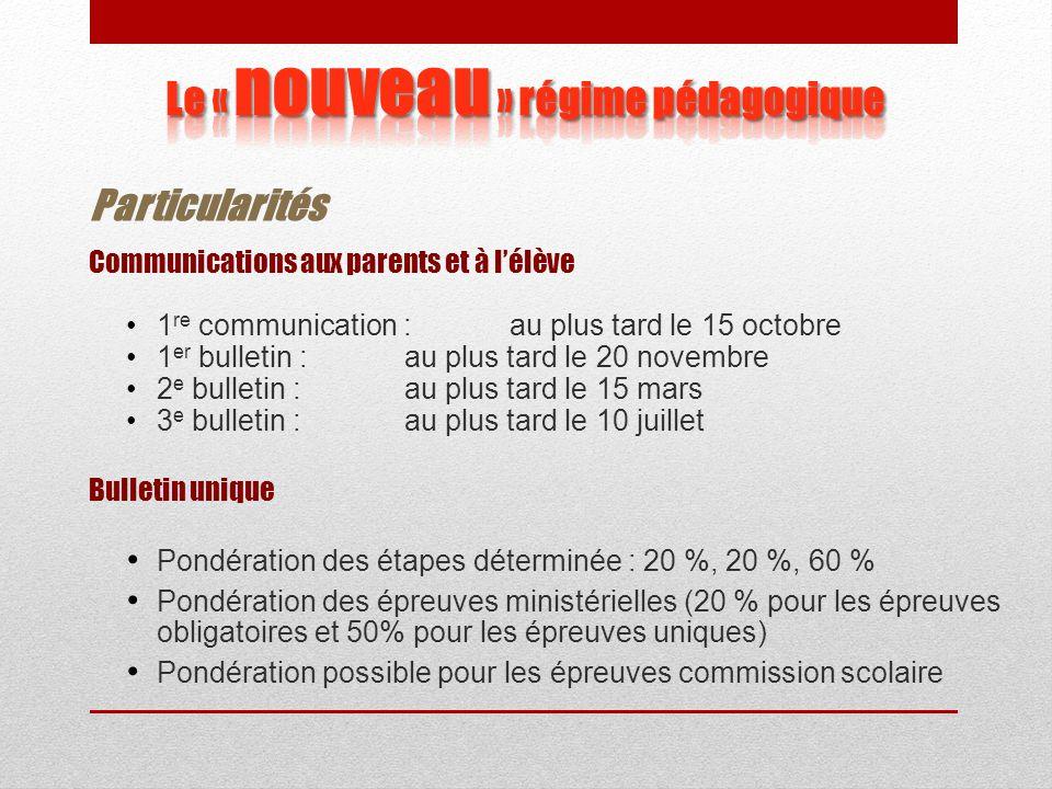 L'évaluation : une responsabilité partagée ActuellementÀ compter du 1 er juillet 2011 MELS  Régime pédagogique  Programme (contenu et critères)  Éc
