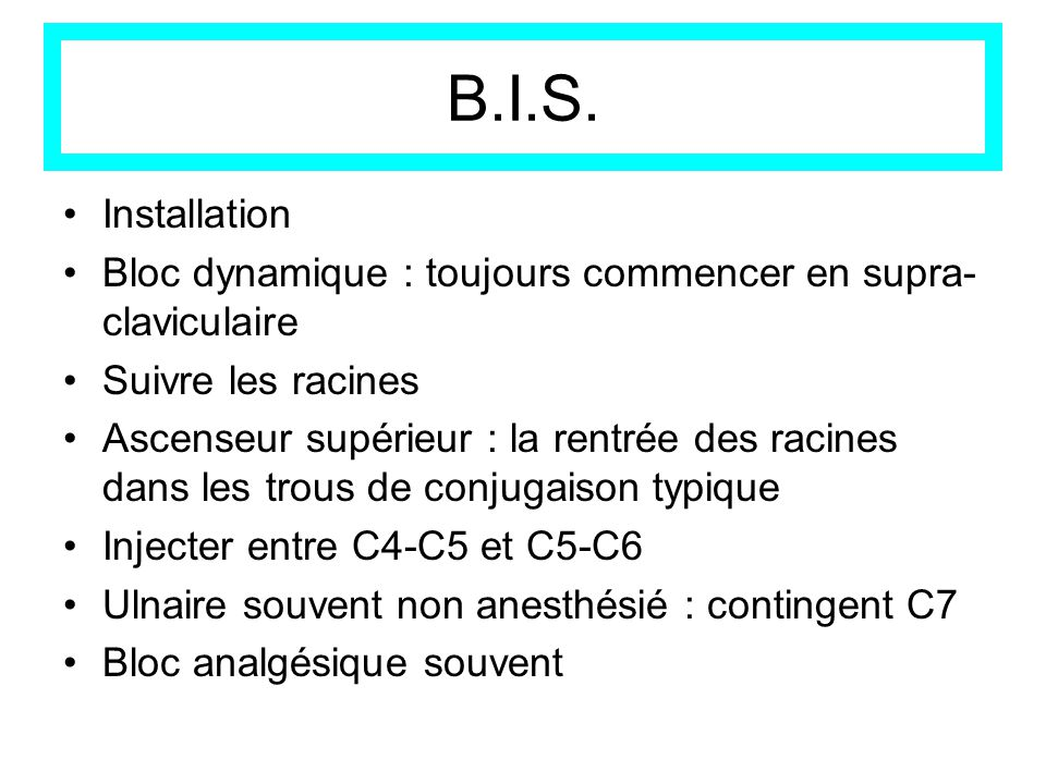 B.I.S.