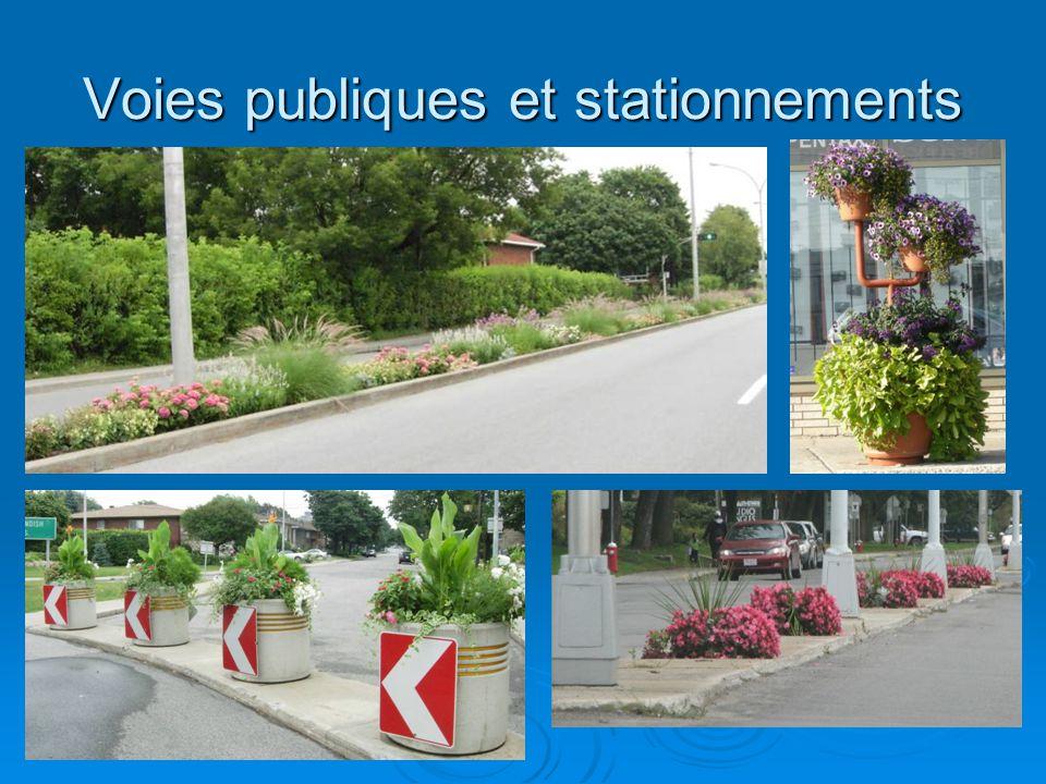 Voies publiques et stationnements