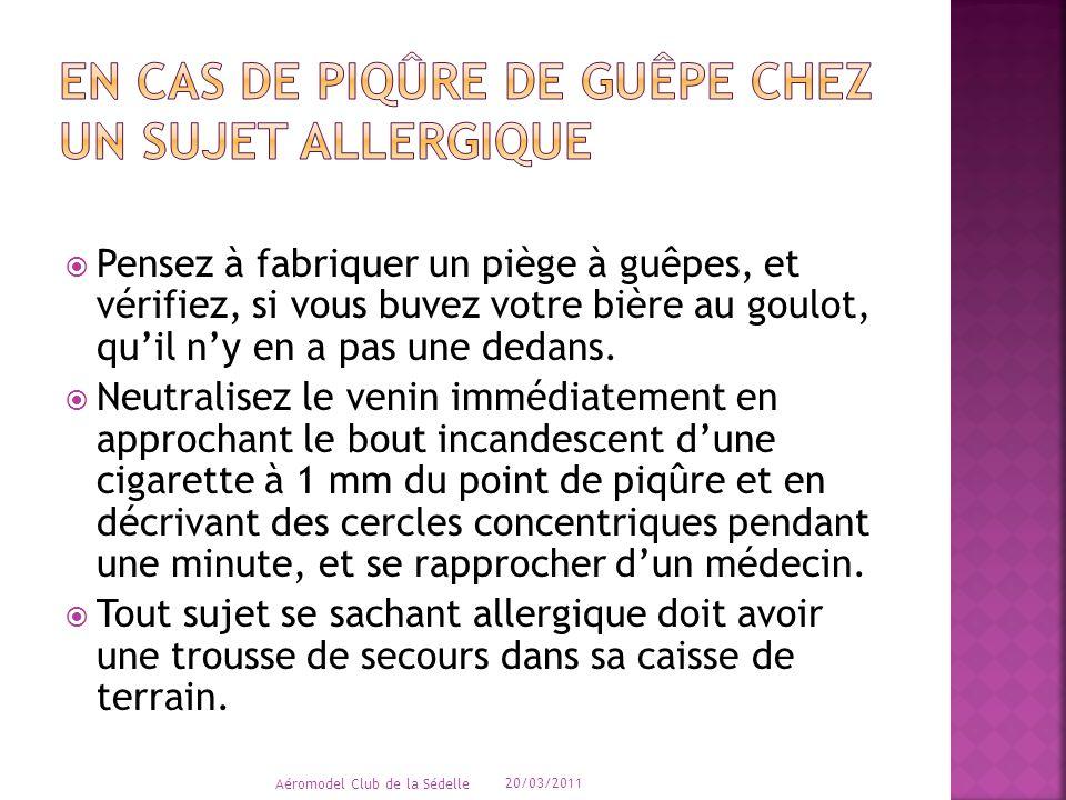  Si des plaques rouges surélevées apparaissent, avec gêne respiratoire ou malaise avec vomissements appeler le SAMU et disant « urgence vitale ».