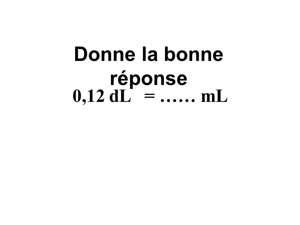 kLdaLhLLcLdLmL mdmcm 333 0,12 dm 3 = 0,12 L 012, 0,12 dm 3 = ……… L