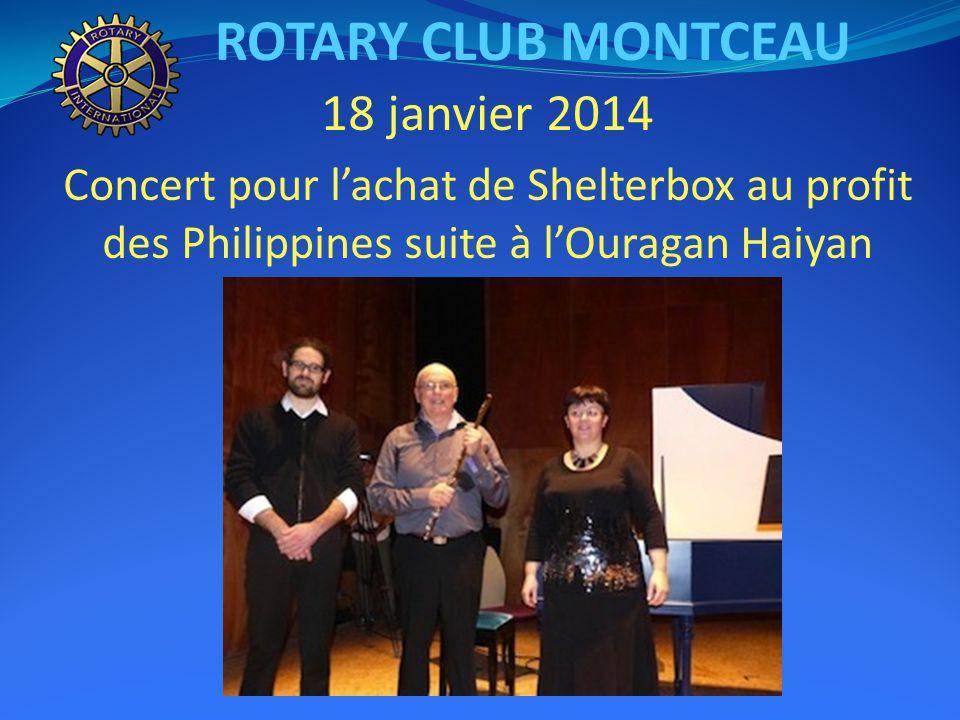 31 décembre : réveillon au restaurant Le Plessis ROTARY CLUB MONTCEAU