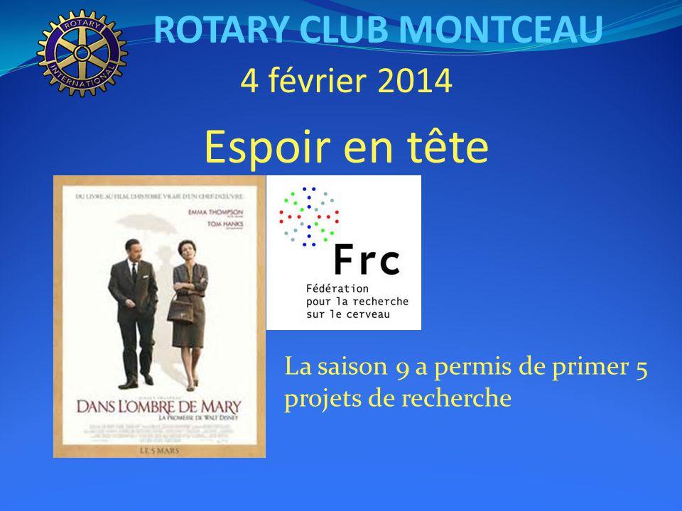 ROTARY CLUB MONTCEAU 30 janvier : conférence de Georges SIMON « La gestion des eaux de la Bourbince »