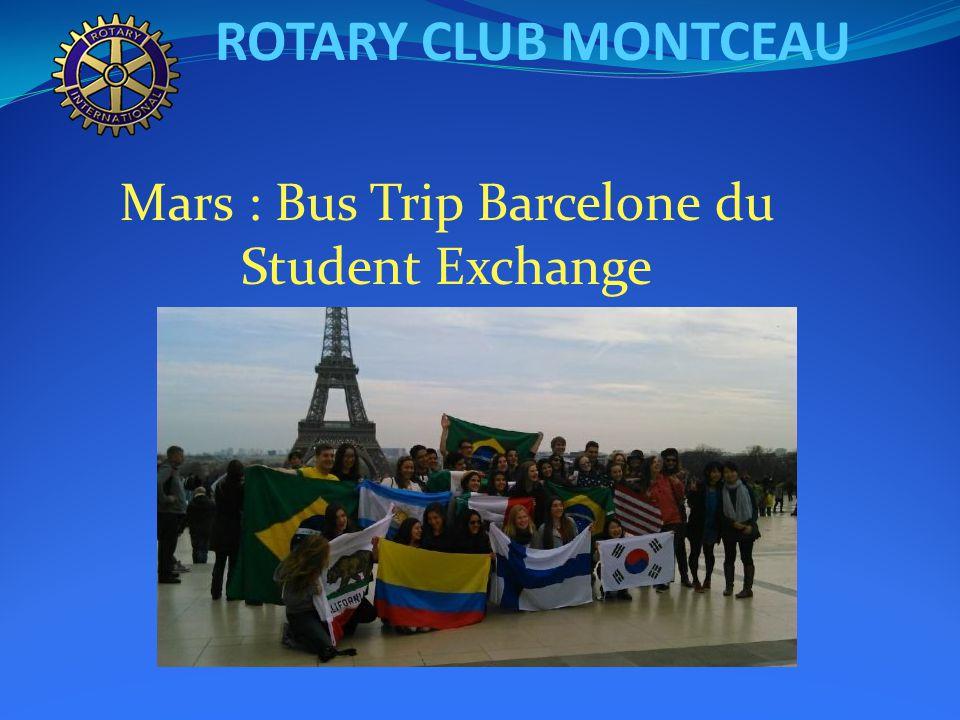 ROTARY CLUB MONTCEAU Notre prix Servir : Georges MERCIER M.