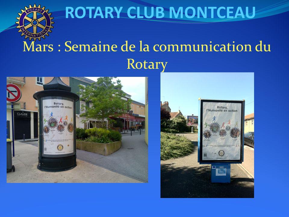 ROTARY CLUB MONTCEAU Mars : Bus Trip Barcelone du Student Exchange