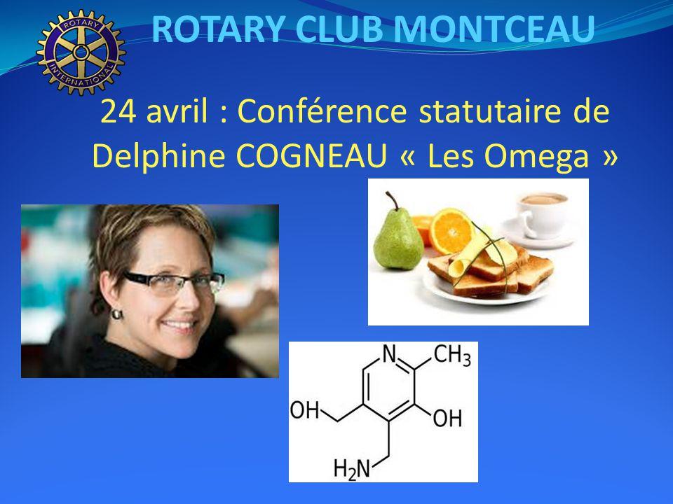 ROTARY CLUB MONTCEAU 10 avril : Conférence statutaire d'Eric PIMPINELLI « la Centrale Lucy »