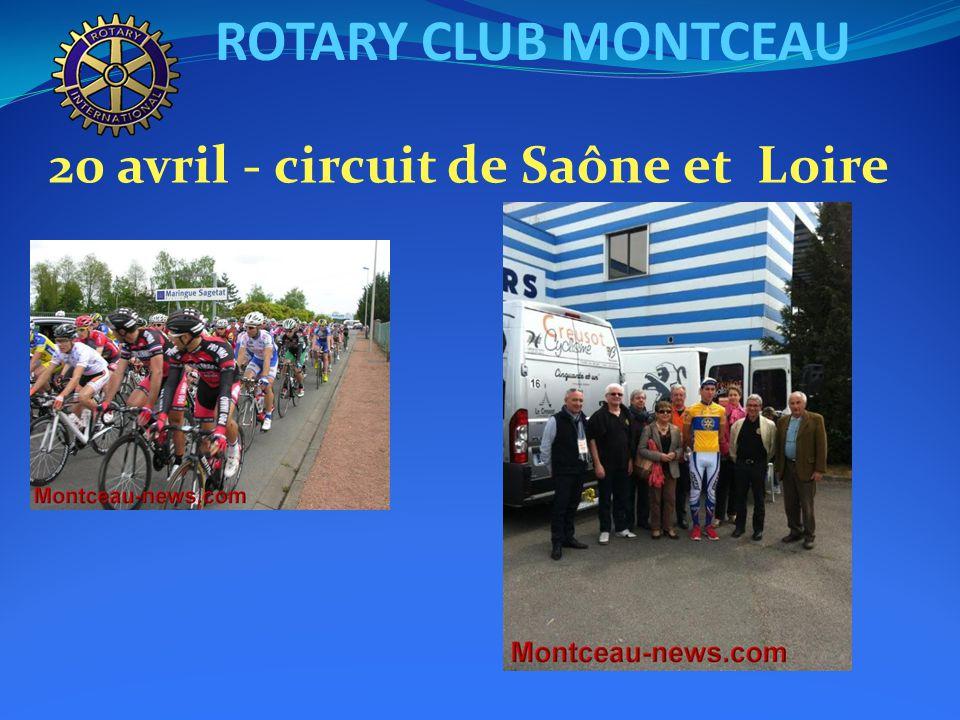 ROTARY CLUB MONTCEAU 24 avril : Conférence statutaire de Delphine COGNEAU « Les Omega »