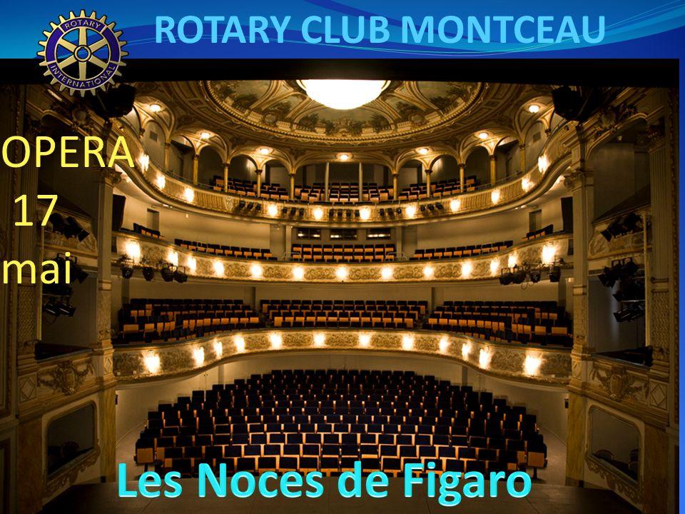 ROTARY CLUB MONTCEAU OPERA 17 mai