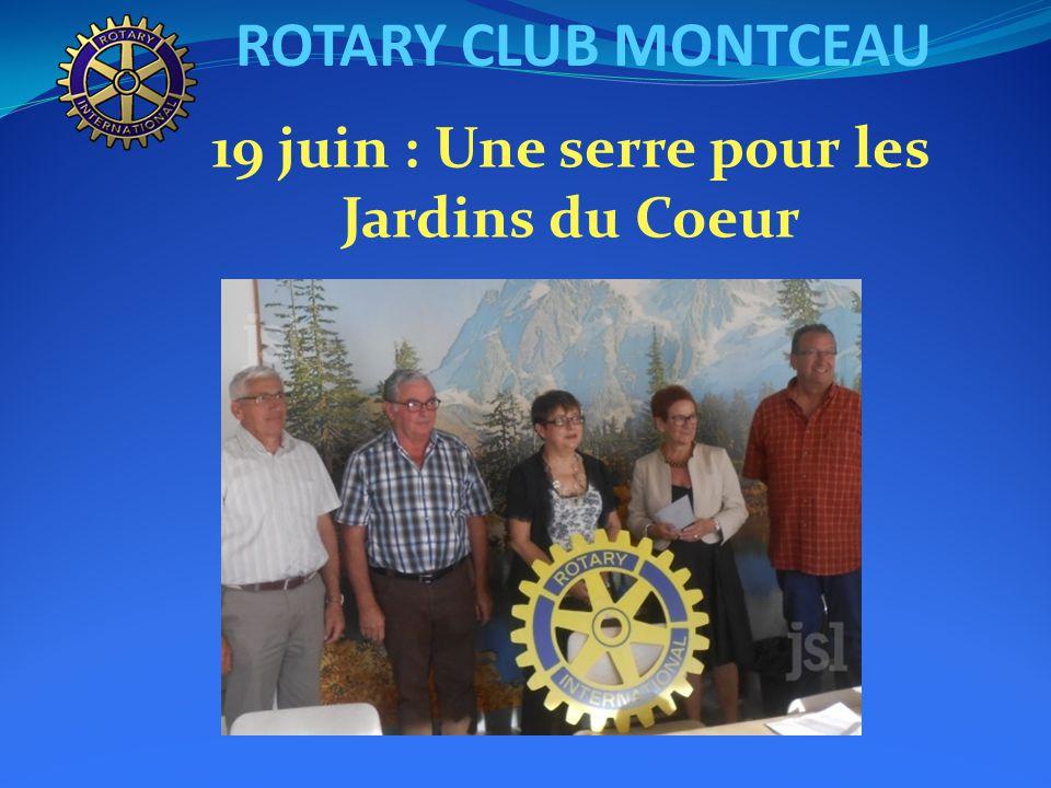 ROTARY CLUB MONTCEAU 12 juin : Conférence sur le Crédit Mutuel par Olivier DUCROUX et Dominique SCHERNO