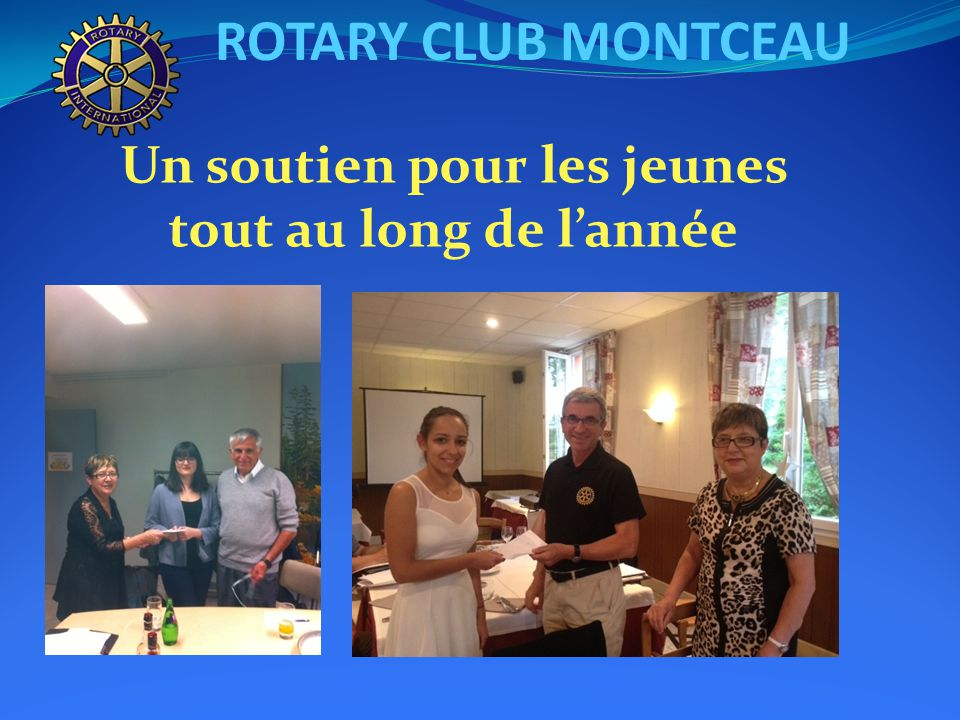 ROTARY CLUB MONTCEAU CONFERENCE DE DISTRICT A NEVERS LE 21 JUIN