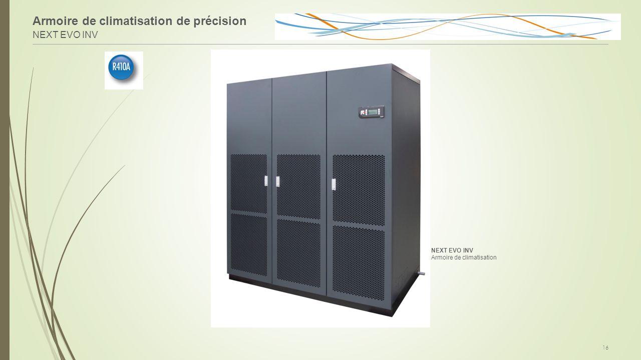 Armoire de climatisation de précision NEXT EVO INV 16 NEXT EVO INV Armoire de climatisation
