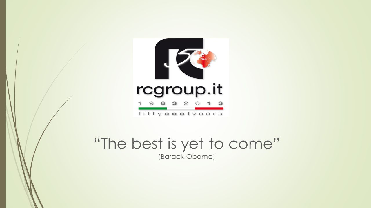 """""""The best is yet to come"""" (Barack Obama)"""