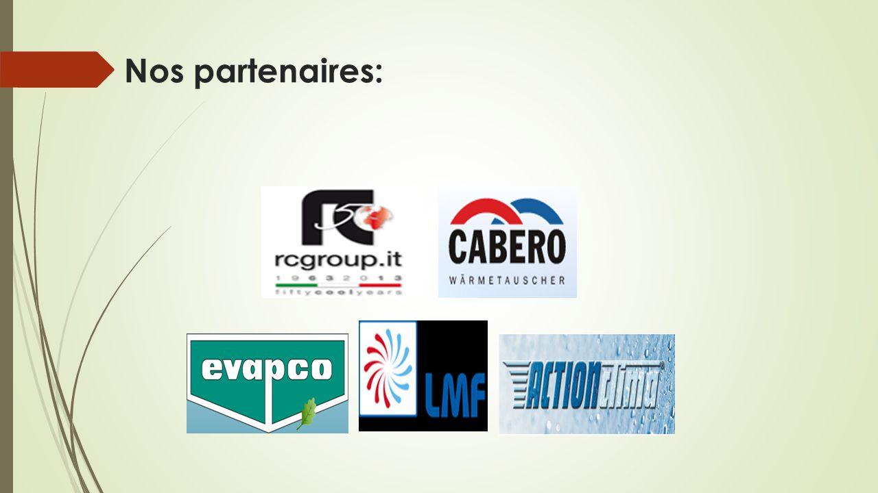 Nos partenaires: