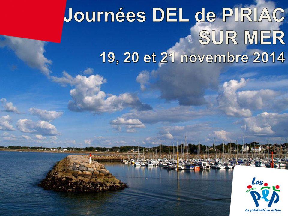 Journées DEL de PIRIAC SUR MER – 19, 20 et 21 novembre 2014