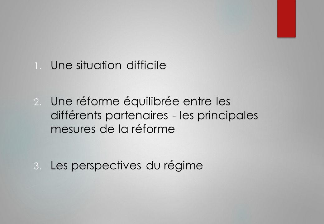 La situation du régime Le gouvernement a confié en 2010 au cabinet WINTER la réalisation d'une étude financière et démographique prospective du régime de la CLR.