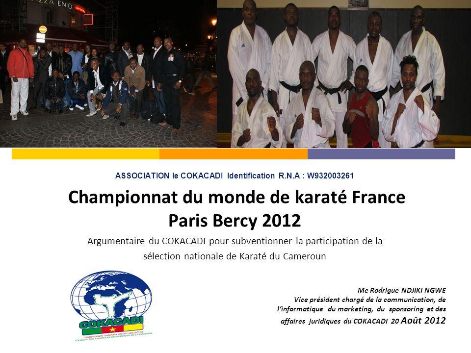  Le Cameroun présente une population jeune, dynamique et ouverte aux pays voisins et à l'international par le sport, notamment le Karaté.