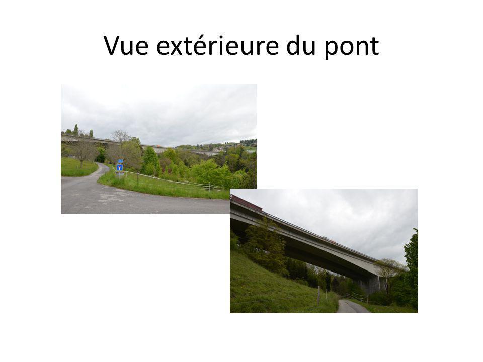 Vue extérieure du pont
