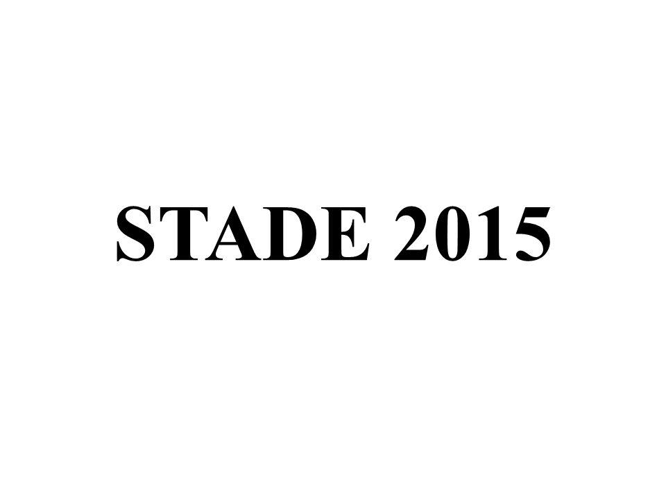 STADE 2015