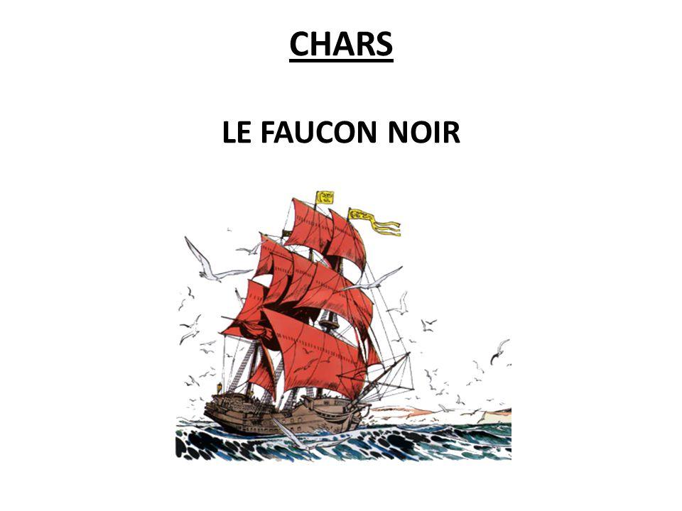 CHARS LE FAUCON NOIR