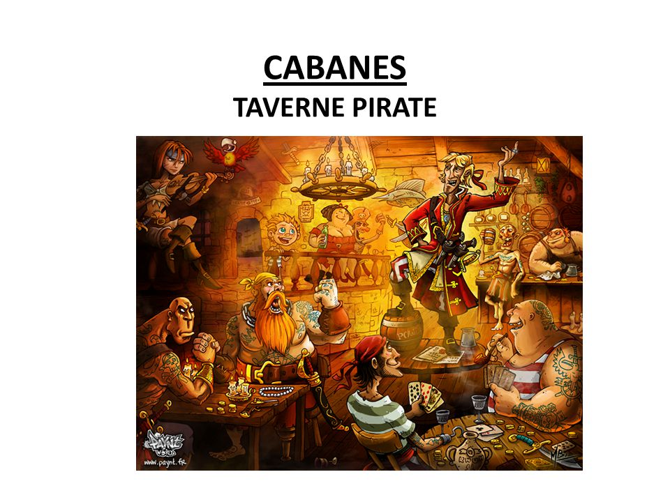 CABANES TAVERNE PIRATE