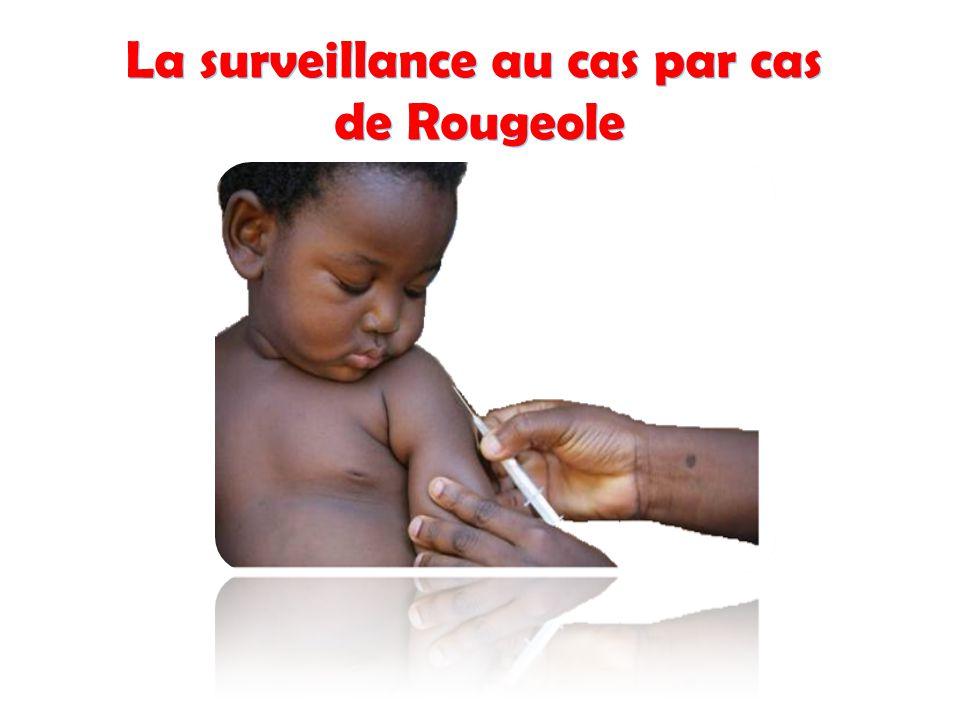 La surveillance au cas par cas de Rougeole