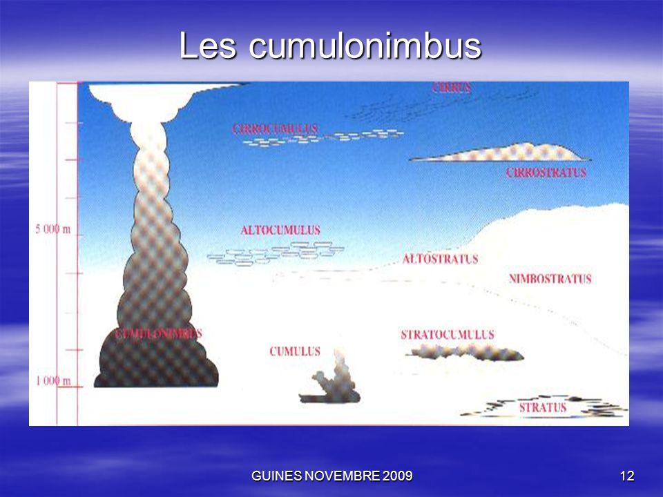 GUINES NOVEMBRE 200912 Les cumulonimbus