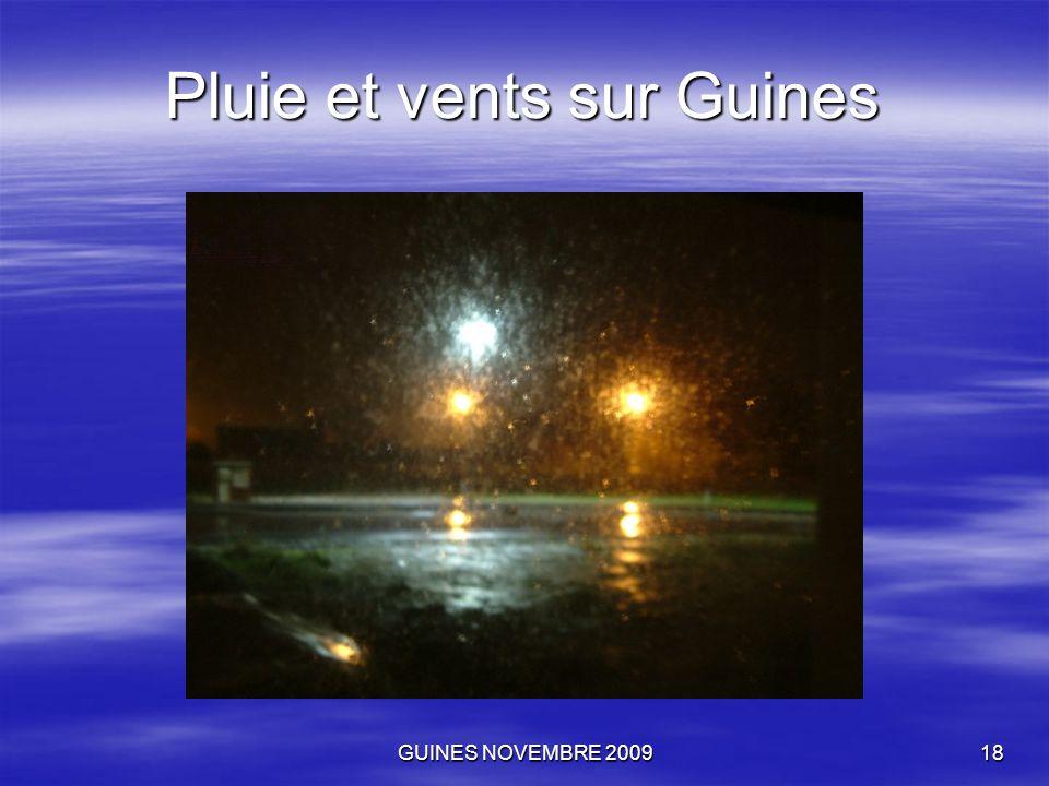 GUINES NOVEMBRE 200918 Pluie et vents sur Guines
