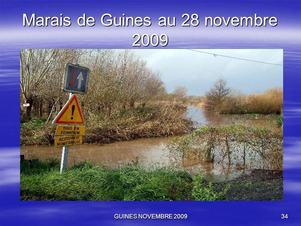 GUINES NOVEMBRE 200934 Marais de Guines au 28 novembre 2009