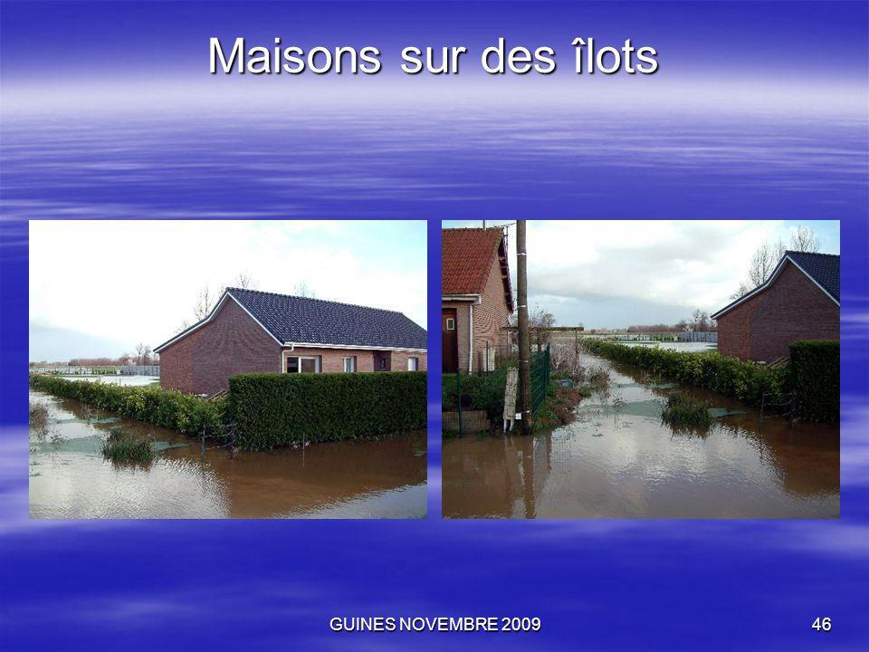 GUINES NOVEMBRE 200946 Maisons sur des îlots