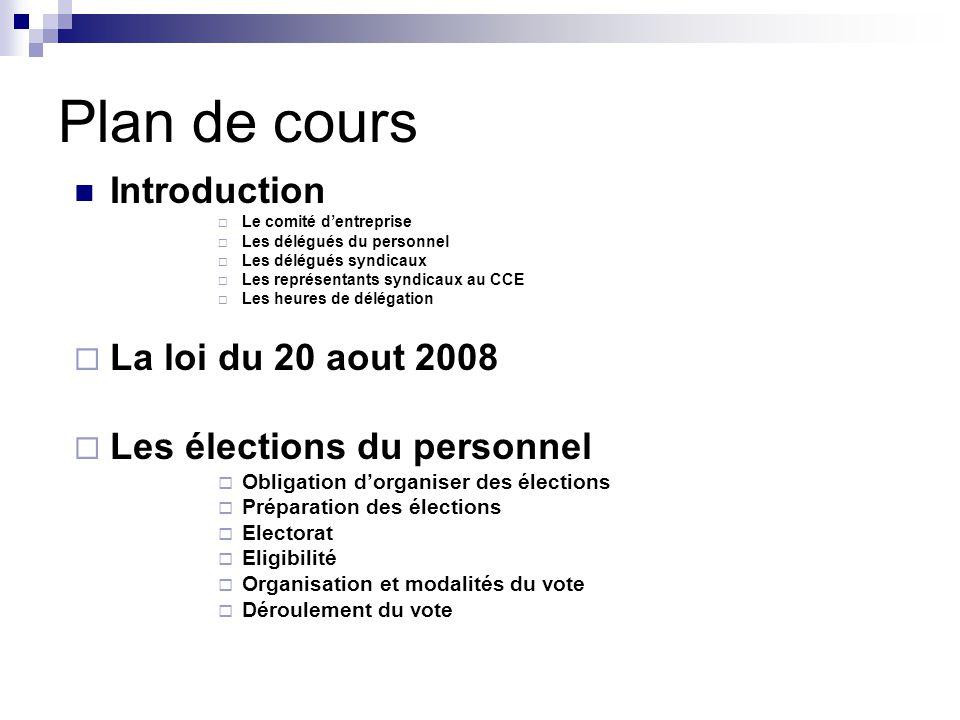 Obligation d'organiser des élections - Les entreprises assujetties - Calcul de l'effectif - Cadre géographique des élections - Nombre de représentants à élire - Durée et renouvellement des mandats