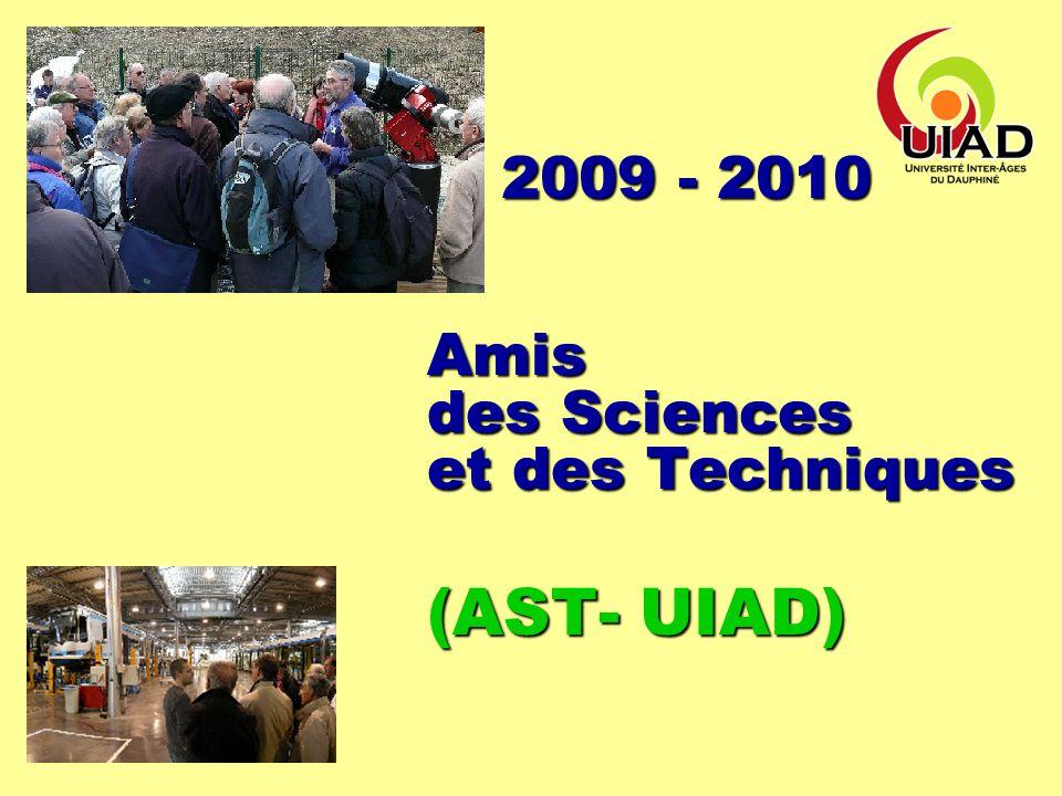 UIAD AST Informations aux Adhérents, vendredi 20 Nov.