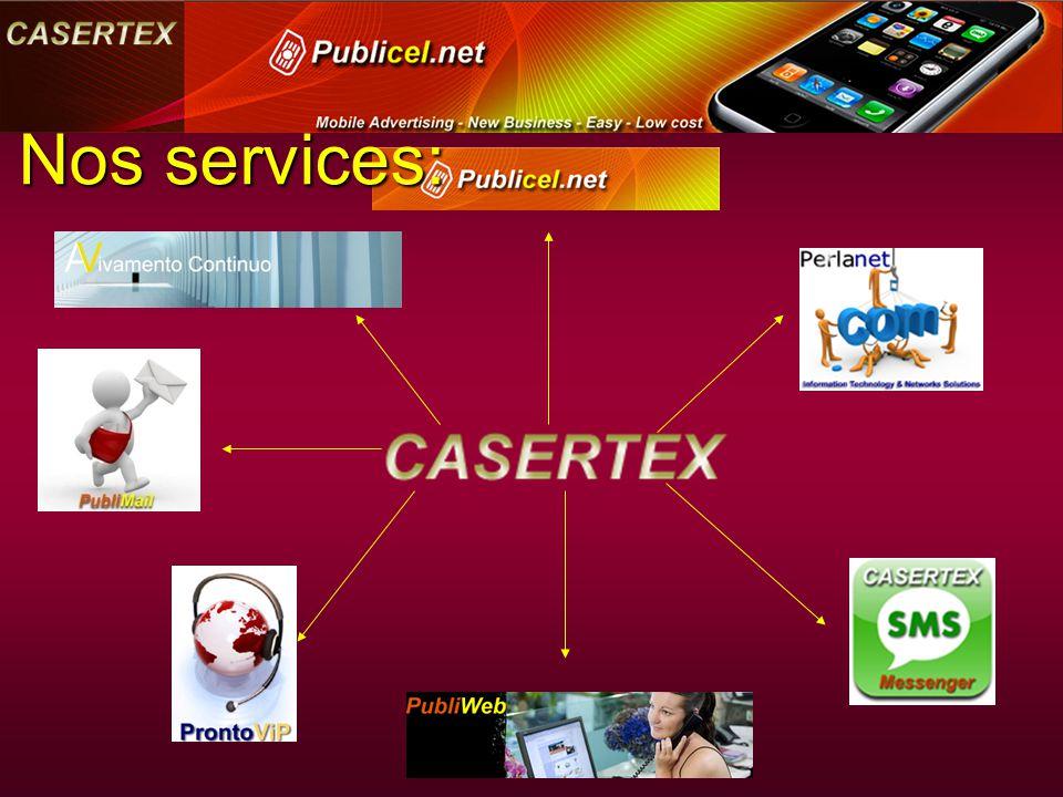 Nos services: