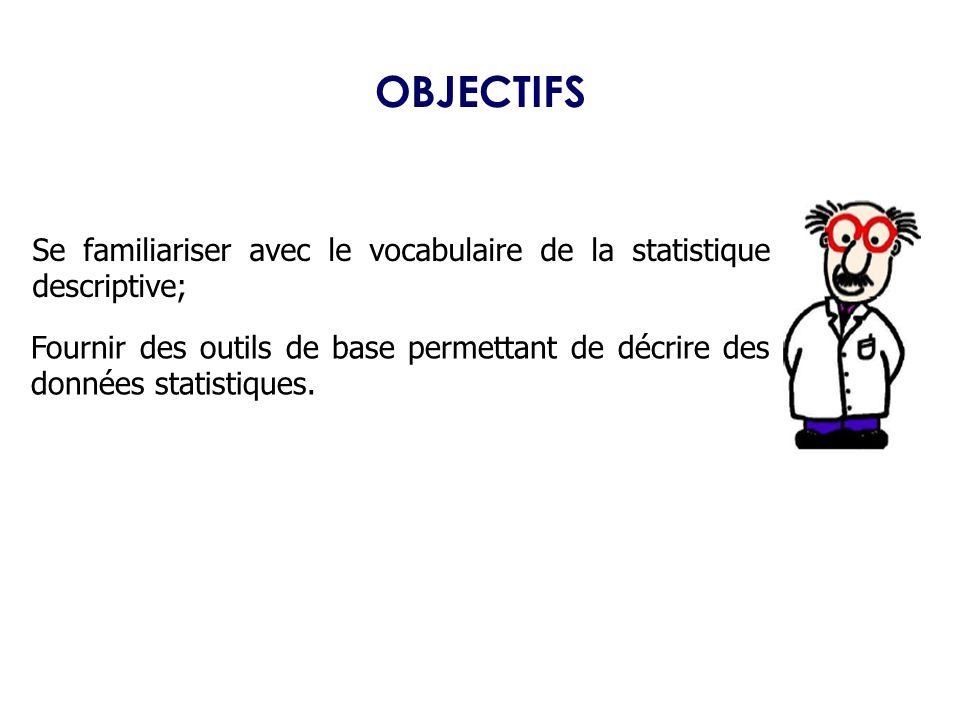 La Statistique,… c'est quoi ?