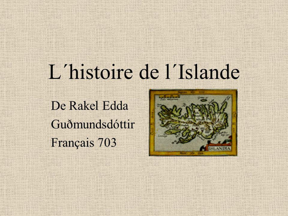 L´histoire de l´Islande De Rakel Edda Guðmundsdóttir Français 703