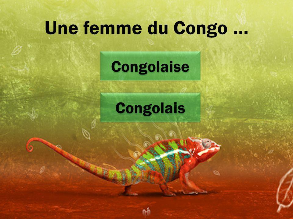Une femme du Congo … Congolaise Congolais