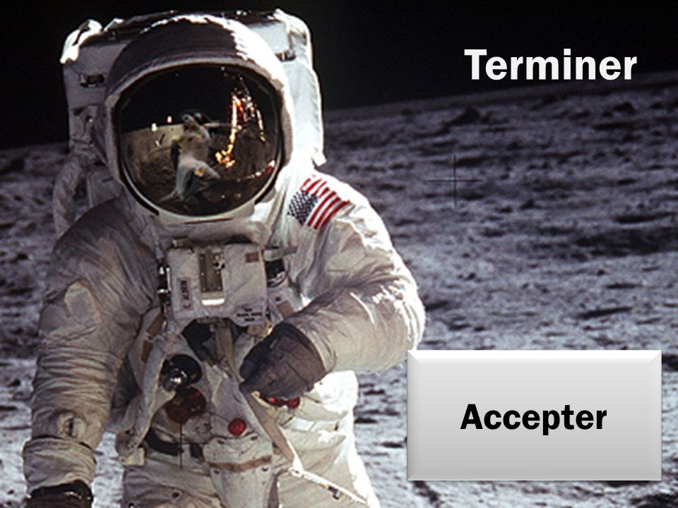 Terminer Accepter