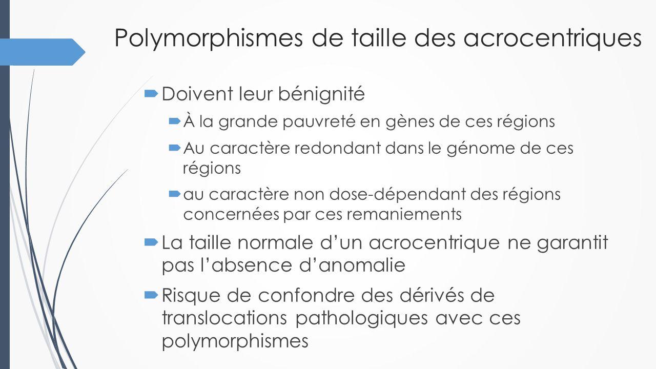 Quatre cas d'anomalies des bras courts