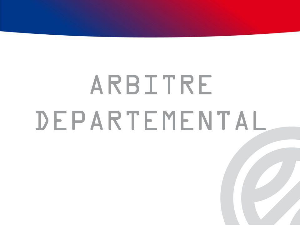 ARBITRE DEPARTEMENTAL