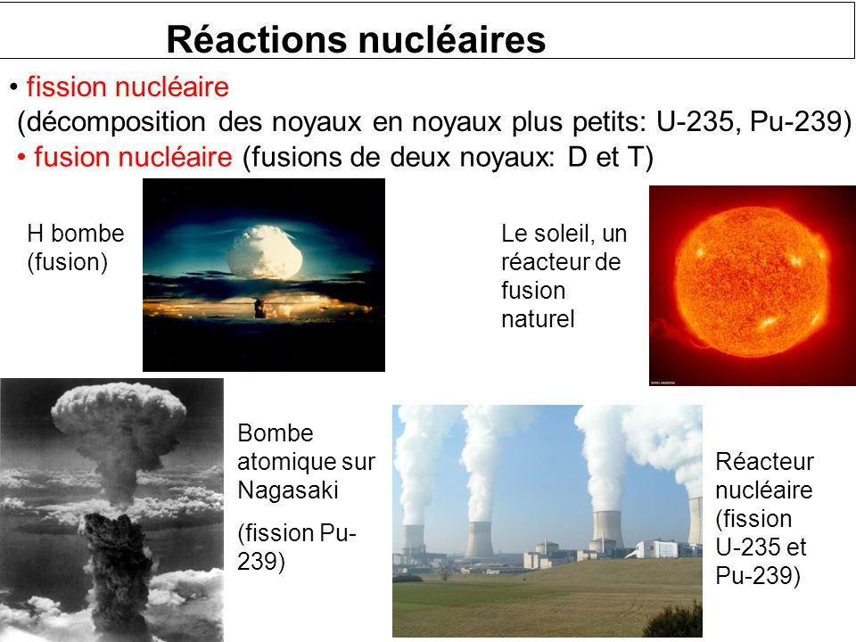 Désintégrations nucléaires Désintégration  Désintégration  Capture d'électrons Émission de positons