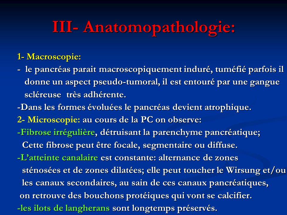 2- Devant des lésions pancréatiques:  Cancer du pancréas: - Représente le principal diagnostic différentiel (parfois mêmes symptômes cliniques).