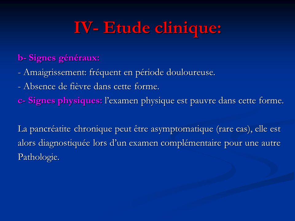 VII- ETIOLOGIES D- Pancréatite aigue sévère récurrente = R: D- Pancréatite aigue sévère récurrente = R: La PA récidivante est une cause rare de pancréatite chronique.