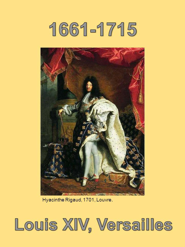 Hyacinthe Rigaud, 1701, Louvre.