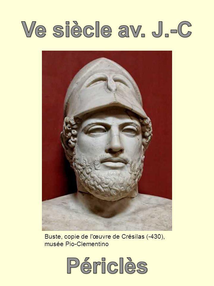Buste, copie de l'œuvre de Crésilas (-430), musée Pio-Clementino