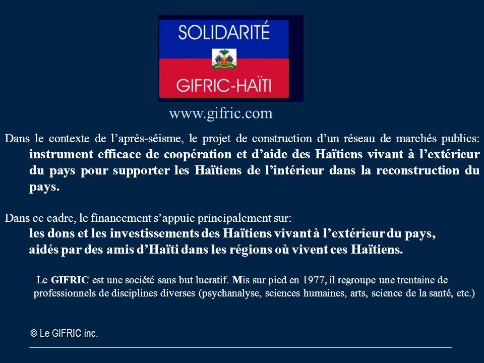 © Le GIFRIC inc.