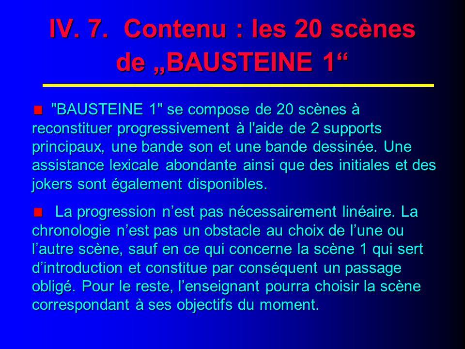 IV.6. Contenu : les 10 étapes de chaque parcours (fin) 9.