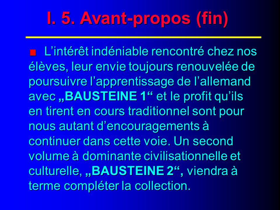 IV.4. Contenu : les 10 étapes de chaque parcours (suite) 5.