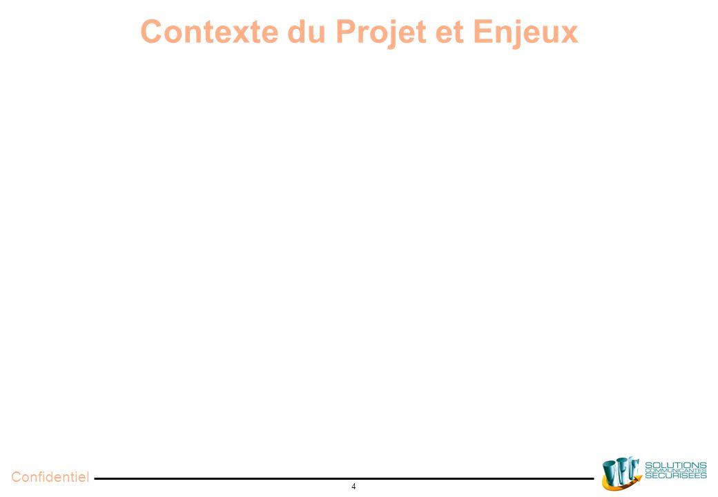 Confidentiel 4 Contexte du Projet et Enjeux