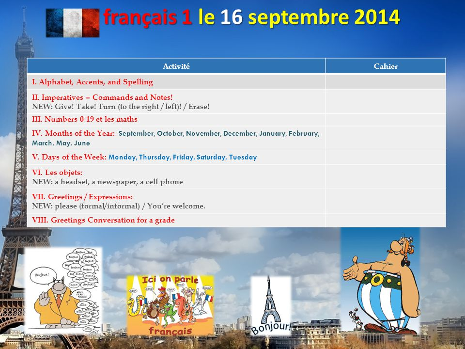 français 1 français 4 honoraire français 5 honoraire français AP: Langue et Culture 2014-2015 Dr.
